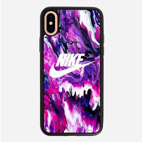 0225a2928e6fd Nike Purple Marble iPhone XR case XS Max 8 plus 6S